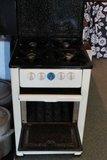 Oud brocante gasfornuis met oven Ega_