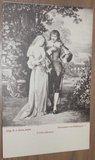 Romantische oude zwart wit kaarten, divers_