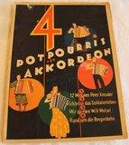 Oud brocante muziekboek 4 Potpourris_