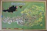 Vintage DE verzamelplaatjes album Oostenrijk, Piet Bakker 1960_