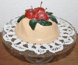Brocante brooddeeg decoratie tulband appeltaartje_