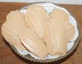 Brocante brooddeeg decoratie Franse madeleines koekjes_