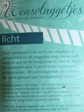 Wensvlaggetjeslijn Licht met envelop etc._