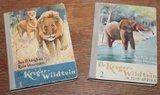Set oude verzamelalbums De Kruger-Wildtuin in Zuid-Afrika 1953_