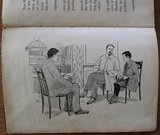 Oud brocante kinderboek De club op klompen_