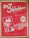 Oud brocante muziekboek De 3 klokken, Kerstmis_
