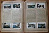 Oud verzamelplaatjes album Een reis naar de Middellandsche Zee 1925_