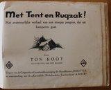 Vintage verzamelplaatjes album Met Tent en Rugzak! HAKA ANWB 1935_