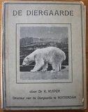 Oud brocante verzamelplaatjesalbum De Diergaarde Rotterdam 1928_