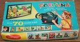 Oude brocante doos speelgoed diaprojecter Fortuna_