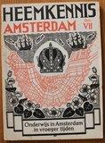 Oud boekje Heemkennis Amsterdam VII Onderwijs geschiedenis_