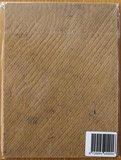 Nostalgisch brocante prentje vintage meisje op houten bordje_
