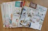 Set brocante tijdschriften Ariadne at Home jaargang 2016 (13 st)_