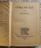 Vintage brocante kinderboek Ciske de Rat, Piet Bakker, 1941_