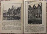 Vintage boek Oud-Amsterdam 100 stadsgezichten 1907_