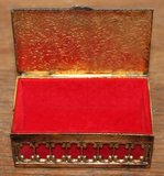 Vintage brocante sieradenkistje of bruidsdoosje Renoir_