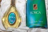 Oude brocante geschenkdoos 4711 Tosca  eau de cologne & zeep_