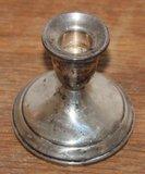Vintage brocante Towle Sterling 925 verzilverde kaarsenkandelaar_