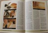 Vintage brocante DHZ hobbyboek Handboek Houtbewerken_