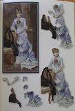 Miniboekje 3D Nostalgic nr. 57, 18 stap voor stap kaarten maken_