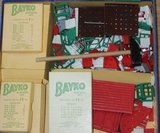 Engelse vintage brocante Bayko building set 1, bouwdoos jr '50_