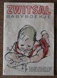Vintage brocante Zwitsal babyboekje verzamelaars