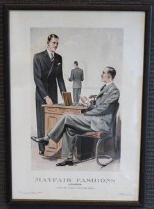Modeprent heren Mayfair Fashions 1934-1935