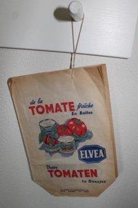 Oude verpakkingszakjes tomaten Antwerpen
