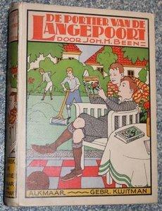 Oud kinderboek De portier van de Langepoort