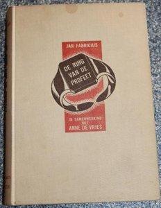 Oud boek De ring van de profeet, Jan Fabricius
