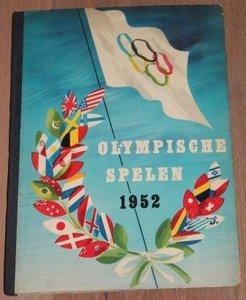 Vintage verzamelplaatjes album Olympische Spelen 1952, Planta
