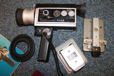Oude Ricoh super 8 - 800 Z filmcamera