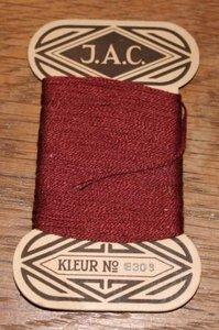 Oud brocante kaartje stopwol, div. soorten