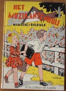 Oud brocante kinderboekje Het muzikantenhuis