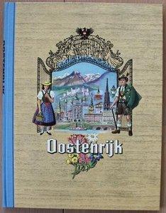 Vintage DE verzamelplaatjes album Oostenrijk, Piet Bakker 1960