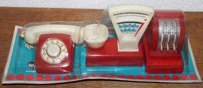 Oude brocante speelgoed winkeltjesset Geobra