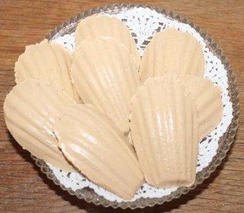 Brocante brooddeeg decoratie Franse madeleines koekjes