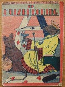 Oud brocante kinderboekje De muizenkoning nr 36