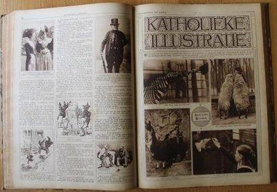 Jaargang 57 oude tijdschriften De Katholieke Illustratie 1922/23