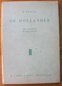 Oud brocante boekje De Hollander, ons nationale konijnenras