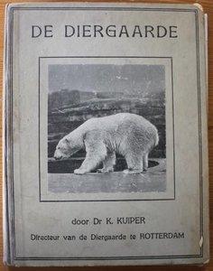 Oud brocante verzamelplaatjesalbum De Diergaarde Rotterdam 1928