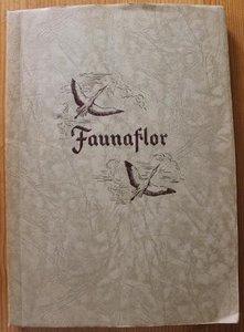 Oud brocante verzamelplaatjesboek Faunaflor Côte d'Or 1952