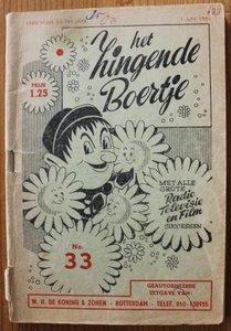 Oud muziekboekje Het zingende boertje no 33, 1961