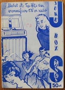 Oud muziekboekje Juke box songs no. 4. 1960, songteksten