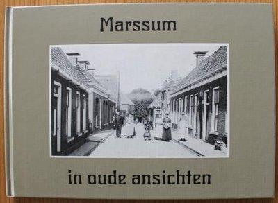Oud brocante fotoboekje Marssum in oude ansichten