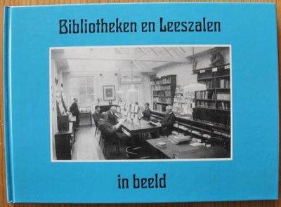 Oud brocante fotoboekje Bibliotheken en Leeszalen in beeld