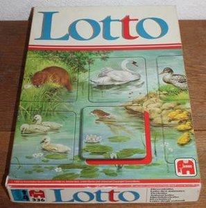 Oud vintage brocante spelletje Lotto, Jumbo 336, 1982