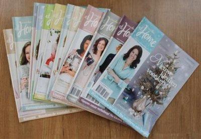 Set brocante tijdschriften Ariadne at Home jaargang 2013 (12 st)