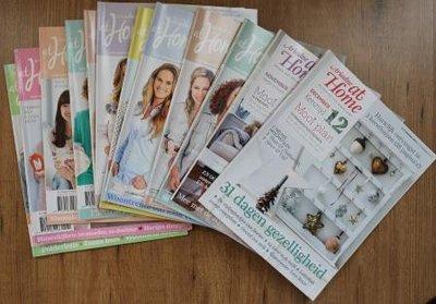 Set brocante tijdschriften Ariadne at Home jaargang 2014 (12 st)