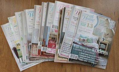 Set brocante tijdschriften Ariadne at Home jaargang 2015 (13 st)